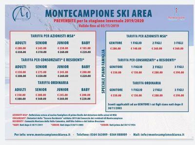 Aggiornamento da Montecampione