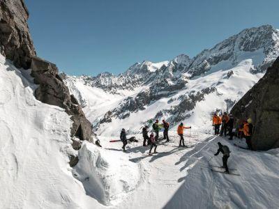 Post facebook dalle piste da sci di  Adamello Ski