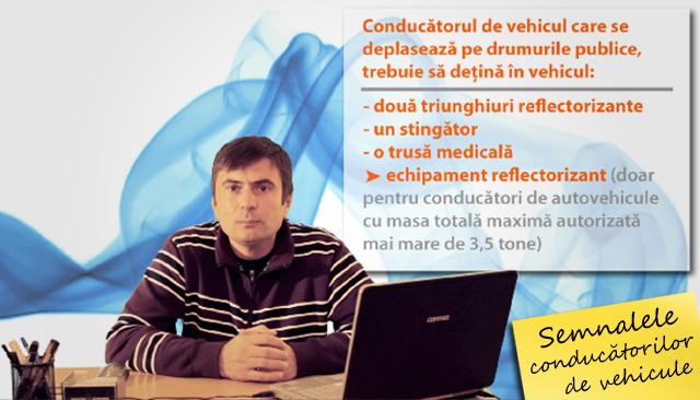 Semnalele conducatorilor de vehicule