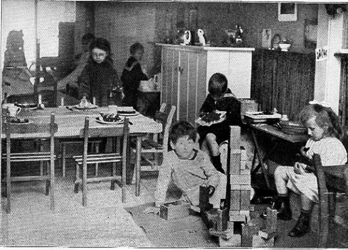 La première école Montessori