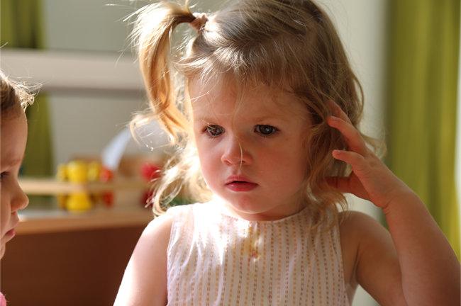 Petite fille qui rève