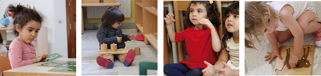 images d'enfants en classe