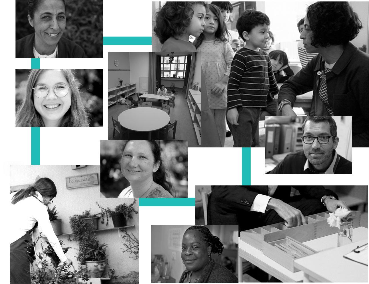 Photos de l'équipe Maison des enfants Montessori