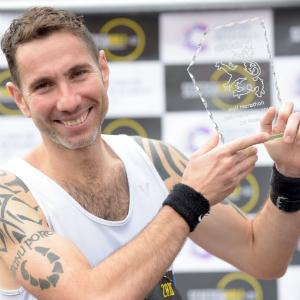 Bryan Mackie, Scottish Half Marathon winner 2016