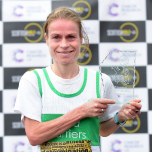 Dianne Lauder, Scottish Half Marathon 2016 winner