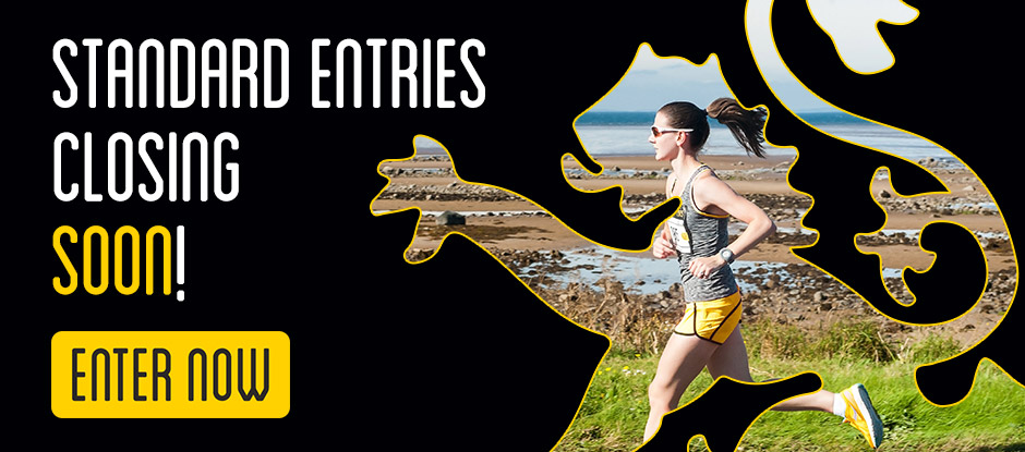 Standard entries close Wed 4th Sept at 5pm!