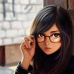Image de profil de fille-reveuse