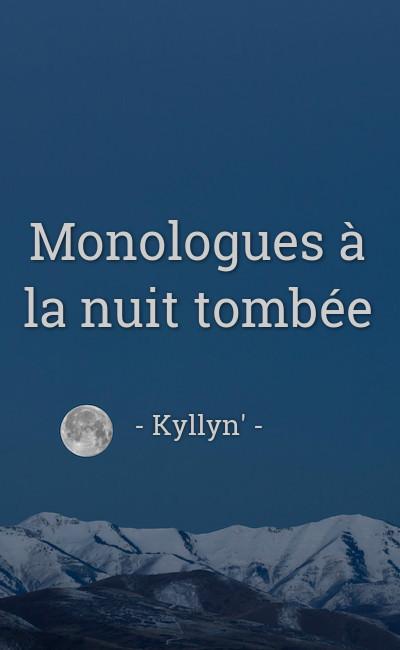 Image de couverture de Monologues à la nuit tombée