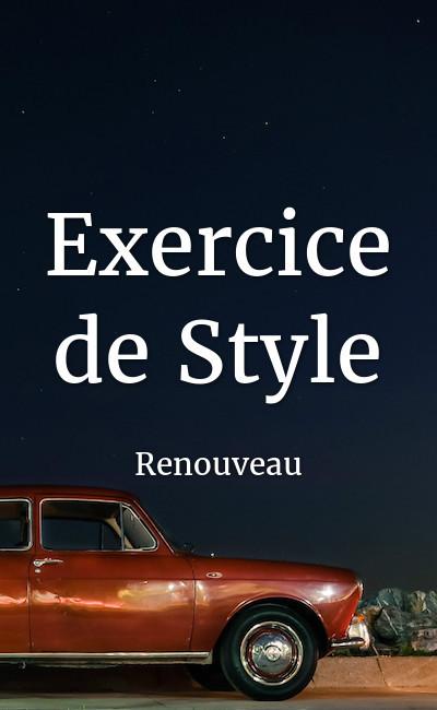 Image de couverture de Exercice de Style