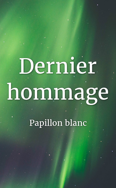 Image de couverture de Dernier hommage