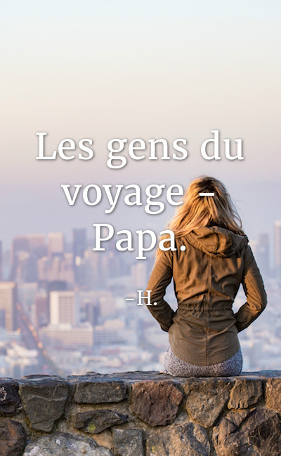 Image de couverture de Les gens du voyage - Papa.