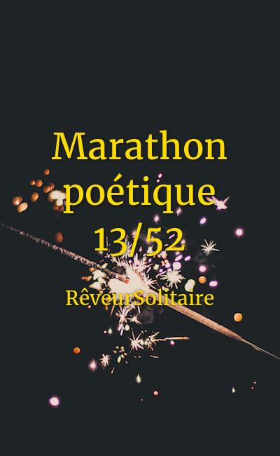 Image de couverture de Marathon poétique 13/52