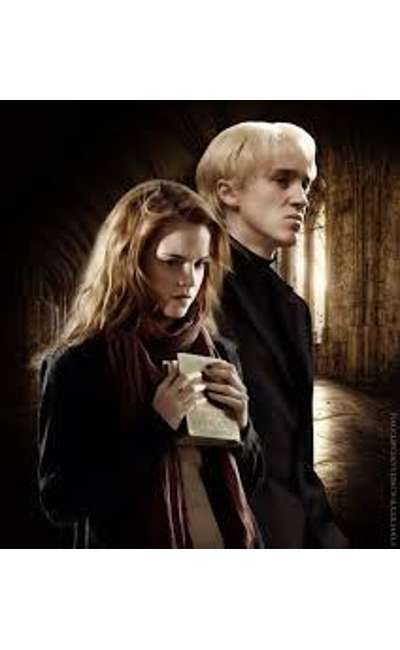 Image de couverture de Joliment grises (FanFiction Harry Potter dramione)