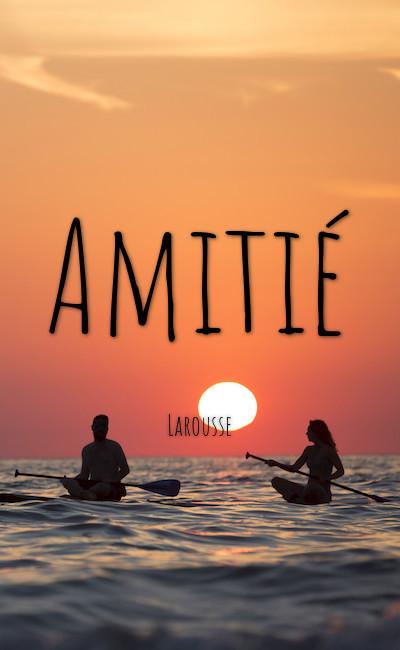 Image de couverture de Amitié