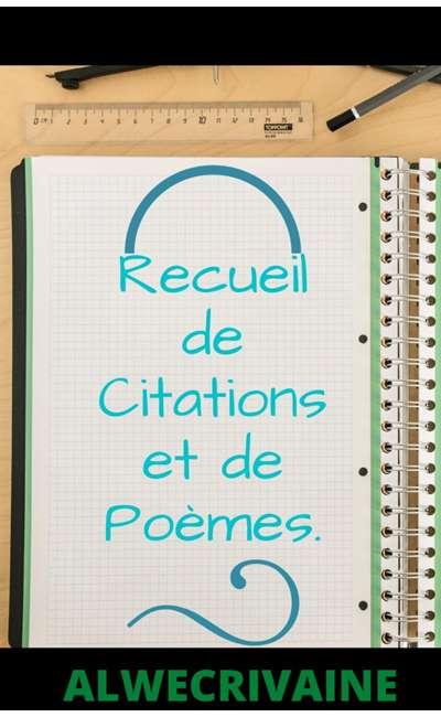 Image de couverture de Partage de citations/ poèmes