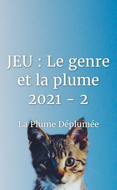 Image de couverture de JEU : Le genre et la plume 2021 - 2 / La rentrée littéraire