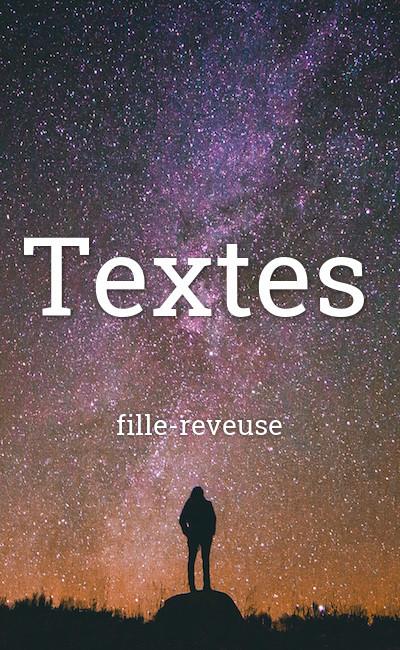 Image de couverture de Textes