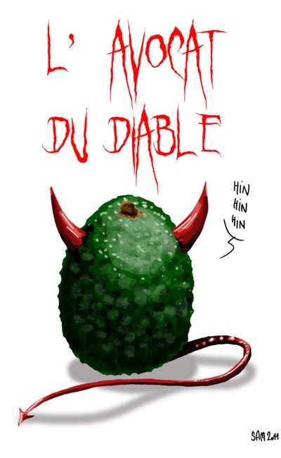 Image de couverture de L'avocado del diablo et autres fadaises sans queue ni tête, alouette...