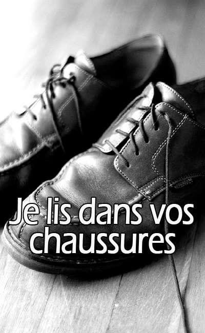 Image de couverture de Je lis dans vos chaussures