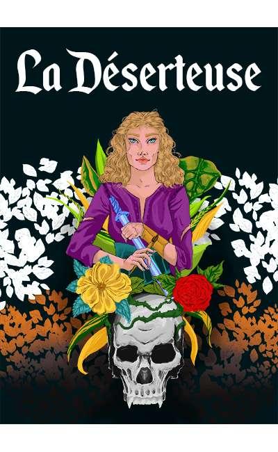 Image de couverture de La déserteuse (Réécriture)