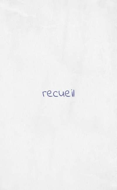 Image de couverture de Recueil