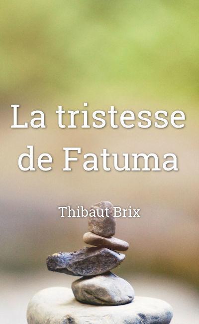 Image de couverture de La tristesse de Fatuma
