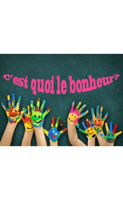 """Image de couverture de Réponse à """"Le bonheur c'est"""""""