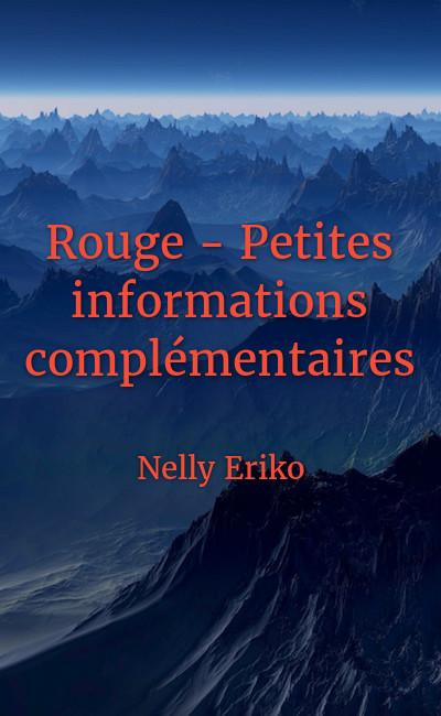 Image de couverture de Rouge - Petites informations complémentaires