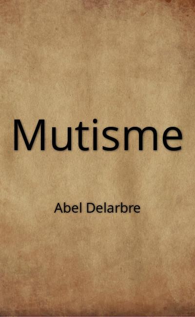 Image de couverture de Mutisme