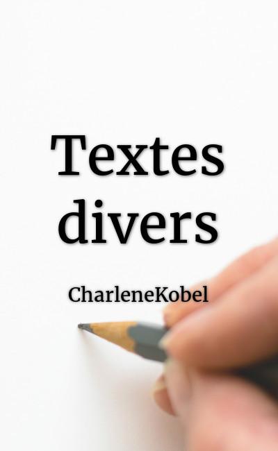 Image de couverture de Textes divers
