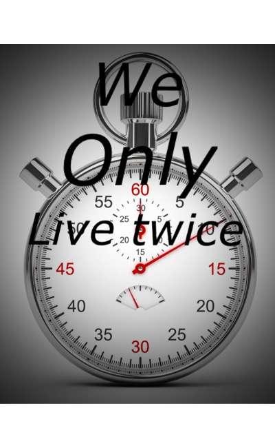 Image de couverture de We only live twice