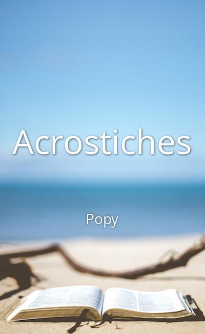 Image de couverture de Acrostiches