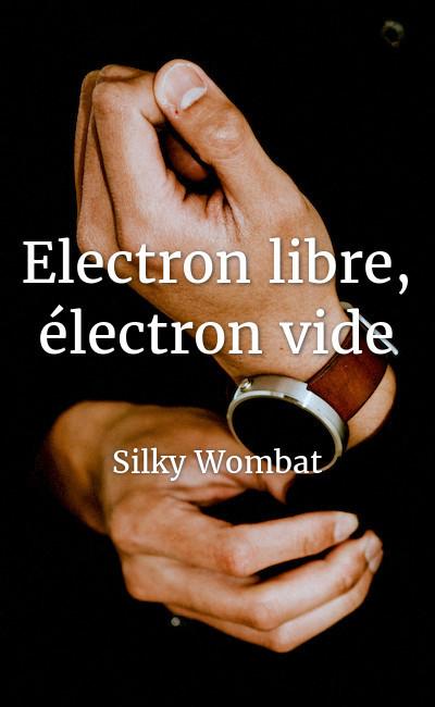 Image de couverture de Electron libre, électron vide