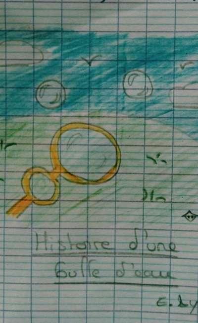 Image de couverture de Histoire d'une bulle d'eau