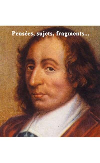 Image de couverture de Pensées, sujets, fragments