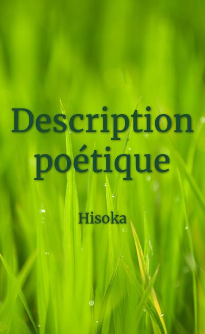 Image de couverture de Description poétique