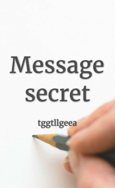Image de couverture de Message secret