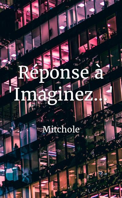 """Image de couverture de Réponse à """"Imaginez..."""""""