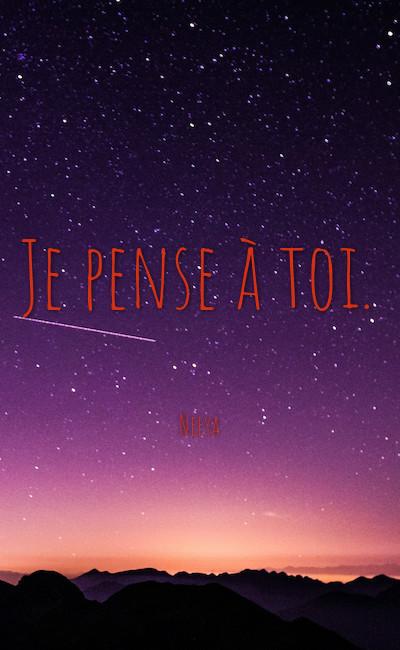 Image de couverture de Je pense à toi.