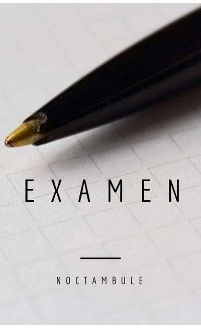 Image de couverture de Examen