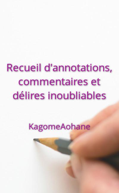 Image de couverture de Recueil d'annotations, commentaires et délires inoubliables