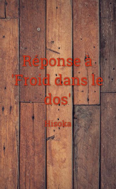 """Image de couverture de Réponse à """"Froid dans le dos"""""""