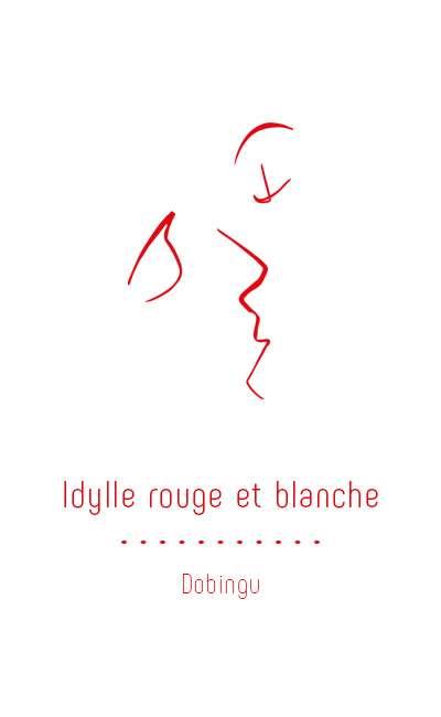 Image de couverture de Idylle rouge et blanche (♂♂)