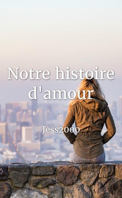 Image de couverture de Notre histoire d'amour