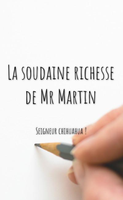 Image de couverture de La soudaine richesse de Mr Martin