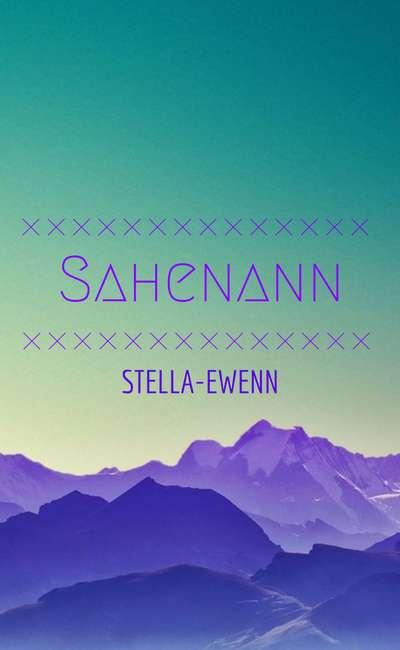Image de couverture de Sahenann