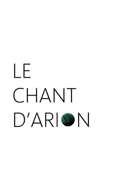 Image de couverture de Le chant d'Arion