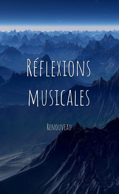 Image de couverture de Réflexions musicales