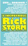 Image de couverture de L'incroyable Rick Storm (version cauchemar narratologique)