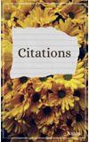 Image de couverture de Citations